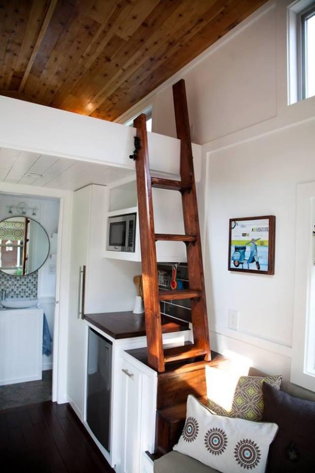 High Plains Tiny Homes - Tiny House ladder | Simply Marie Tiny House Blog