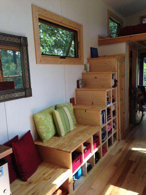 Radhause Tiny House Stairs | Simply Marie Tiny House Blog