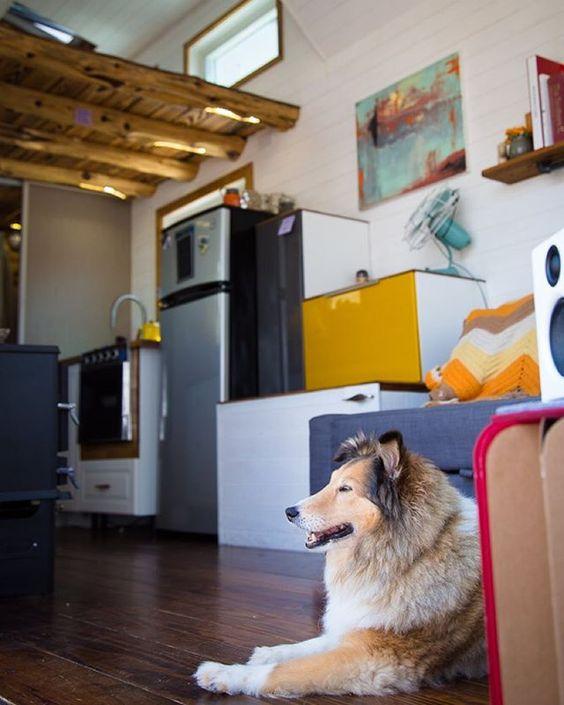 Texas Tiny House - Tiny House Stair Alternative | Simply Marie Tiny House Blog