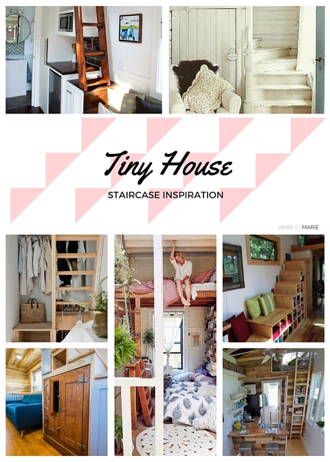 Tiny House Stairs - Inspiration | Simply Marie Tiny House Blog.jpg