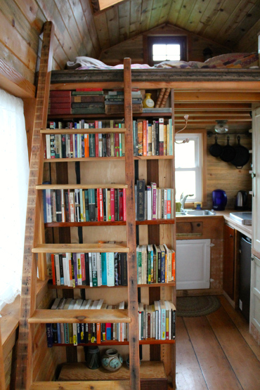 aatinyhouse ladder - featured in Simply | Marie Tiny House Blog