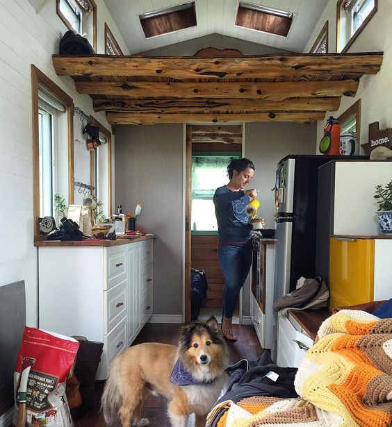 Best Little House In Texas - Tiny House Kitchen - Tiny House Layout - Simply | Marie Tiny House Blog.jpg