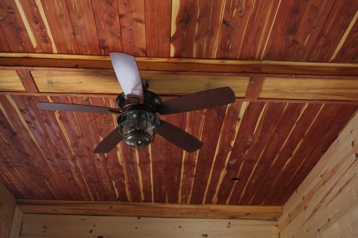Cedar Ceiling Tiny House | Simply Marie Tiny House Blog