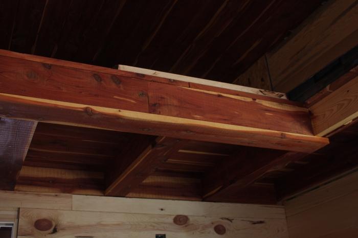 Cedar Tiny House Loft | Simply Marie Tiny House Blog