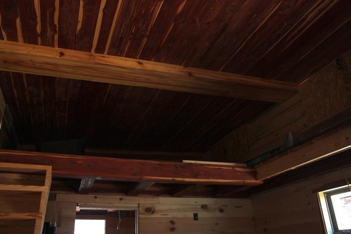 Ceder Ceiling Tiny House | Simply Marie Tiny House Blog
