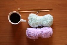 Coffee and Yarn - SimplyMarieJanelle Resume page