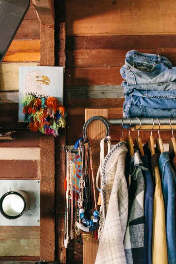 Coralie's Tiny Cabin - Storage | Simply Marie Tiny House Blog