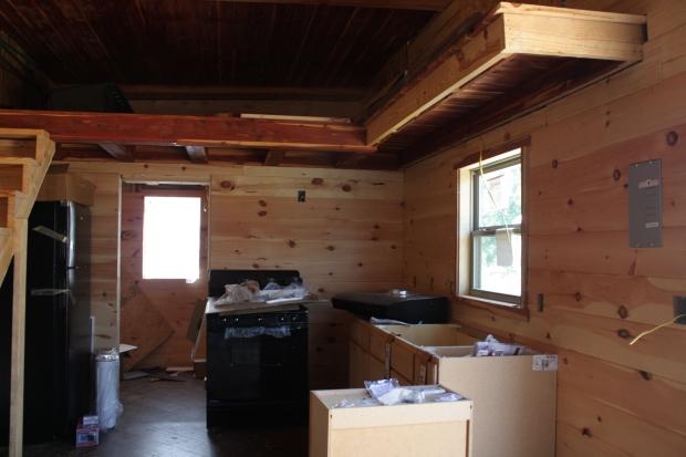 Full Kitchen - Cedar Tiny Home   Simply Marie Tiny House Blog