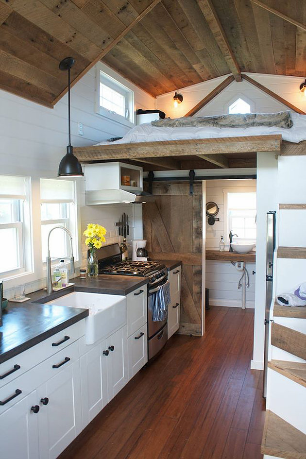 Liberation Tiny Homes - The Modern Farmhouse - Simply Marie Tiny Houes Blog