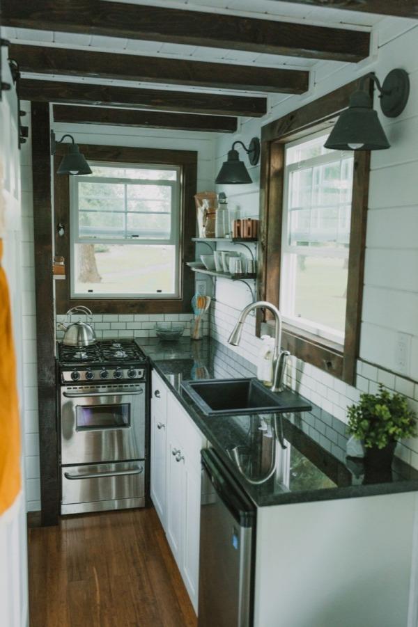 Tiny Heirloom - Tiny House Kitchen | Simply Marie Tiny House BLOG