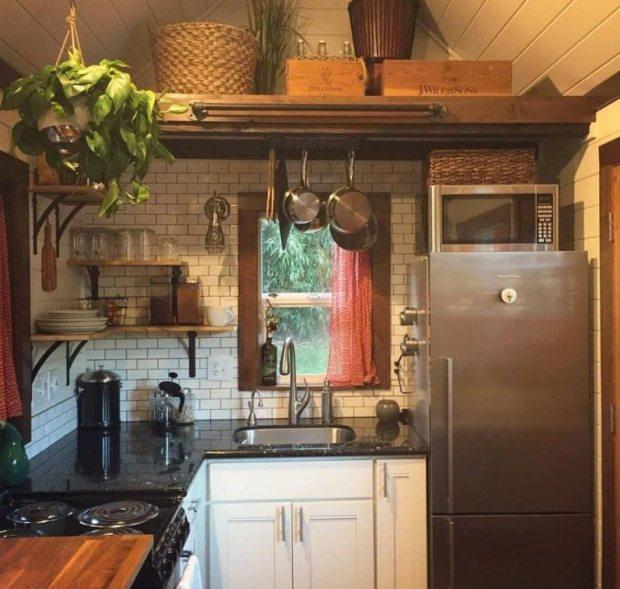 Tiny House Kitchen Layout - Simply Marie Tiny House Blog