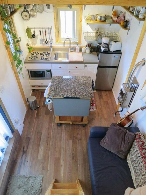 Vagabode Tiny House - Tiny House Kitchen - Simply Marie Tiny House Blog