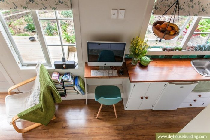 Tiny House Desk Inspiration