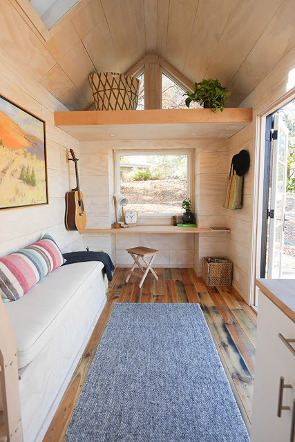 Tiny House Desk Inspiration