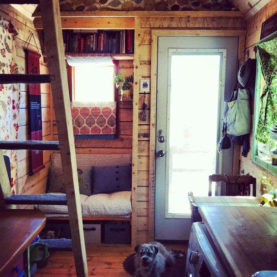 Tiny House artist workspace.